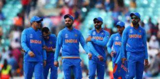 india next series