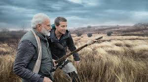 Narendra Modi with Bear Grylls