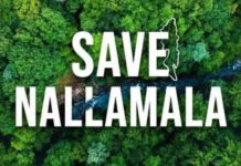 Save Nallamala forest