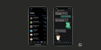 whatsapp dark mode theme