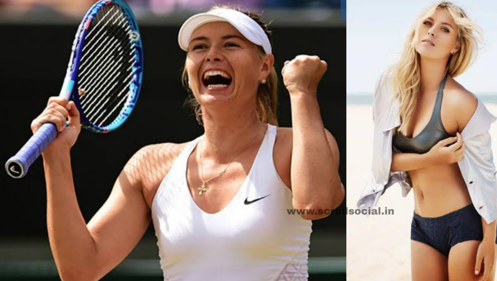 Boyfriend list sharapova maria Maria Sharapova's