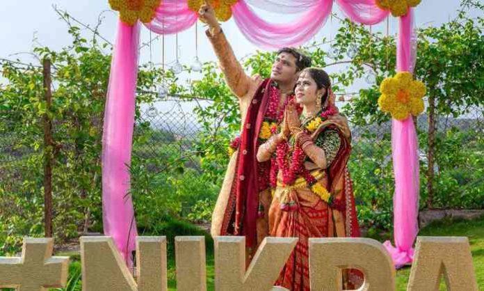 Nikhil marriage Pallavi Varma