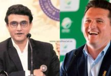 Sourav Ganguly and Graeme Smith