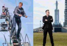 Tom Cruise Elon Musk space movie