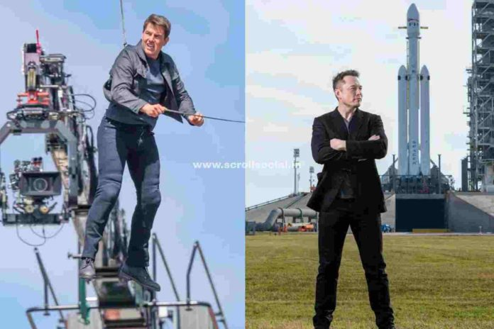 Tom Cruise Elon Musk space movie