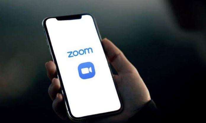 Zoom app in China