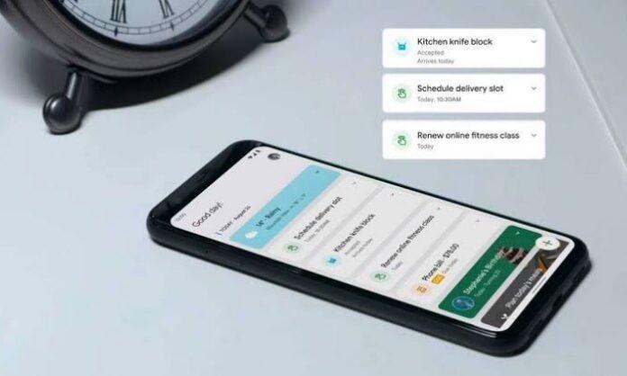 Google Assistant snapshot feature