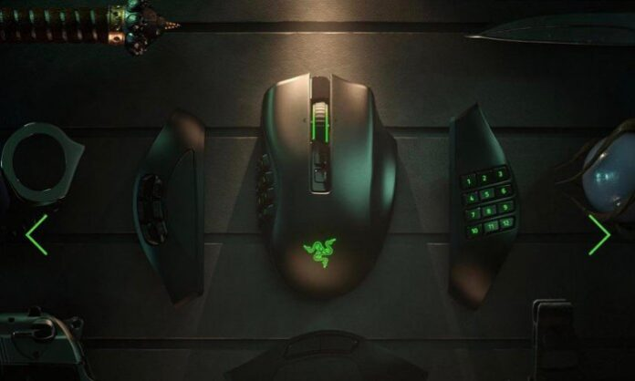 Naga Pro wireless gaming mouse