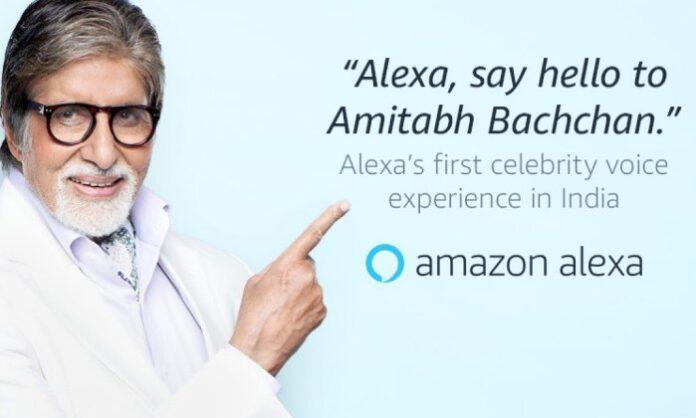 Alexa Amitabh Bachchan