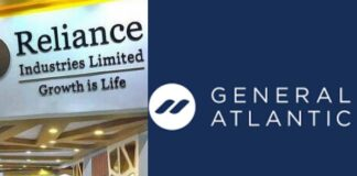 Reliance Industries and General atlantic