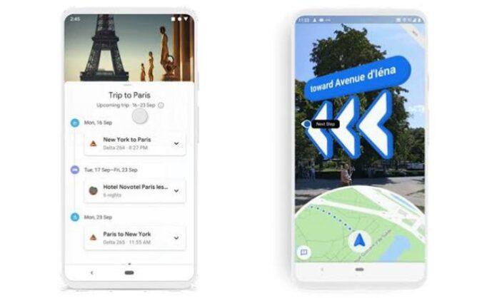 Google Maps landmark feature