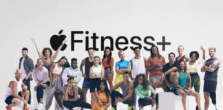 Apple Fitness Plus workout service