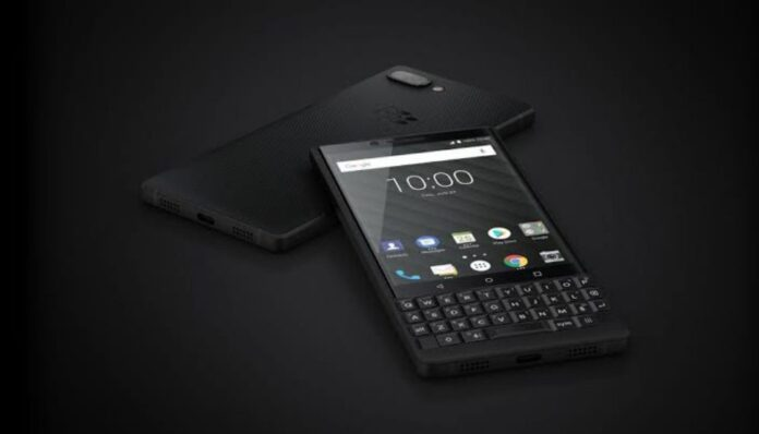 Blackberry 5G with QWERTY keyboard