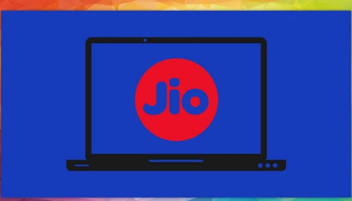 Reliance JioBook laptop